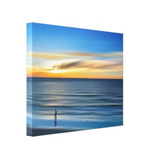 Beach-Landscape Canvas Print