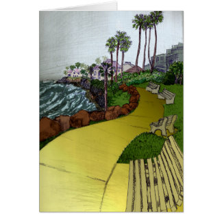 Beach Landscape Card