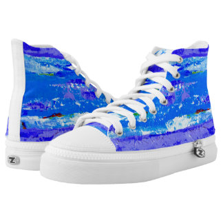 Beach Landscape Sneakers