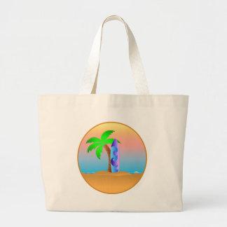 Beach Large Tote Bag