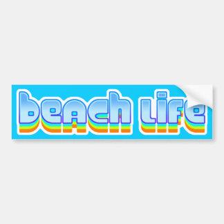 Beach Life Bumper Stickers