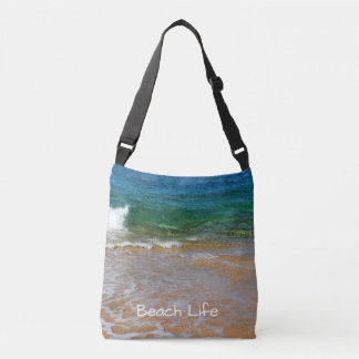 'Beach Life' Cross Body Tote Bag