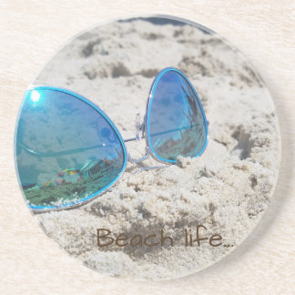 Beach life... drink coasters