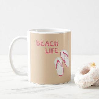 Beach Life Flip Flops Coffee Mug