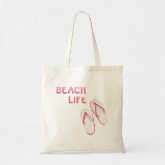 Beach Life Flip Flops Tote Bag
