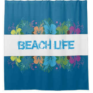 Beach Life Hibiscus Pattern