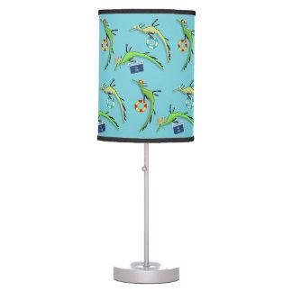 Beach Life of Sea Dragons Table Lamp