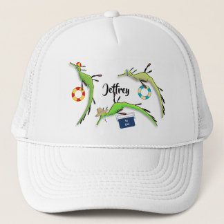 Beach Life of Sea Dragons Trucker Hat