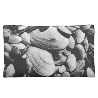 Beach Life seashell clamshell bag