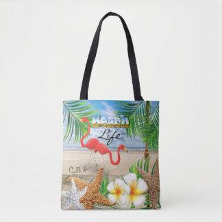 Beach Life - Tropical Tote Bag