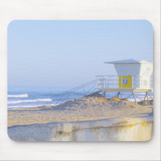 Beach & Lifegaurd Mouse Pad