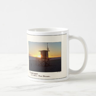 Beach Lifeguard Station Courage Mug