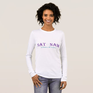 "Beach long sleeve ""the Sat Nam "" Long Sleeve T-Shirt"