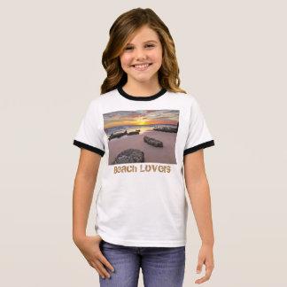 Beach Lovers - Summer season theme Ringer T-Shirt