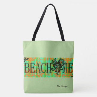 Beach-Me-Bohemian_Green(c)-Multi Choices Tote Bag