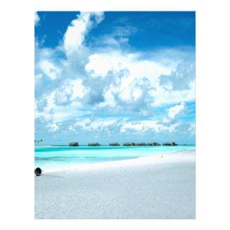 Beach Miles Maldives Letterhead Design