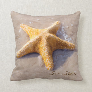 Beach Nature Starfish Sea Star Throw Pillow