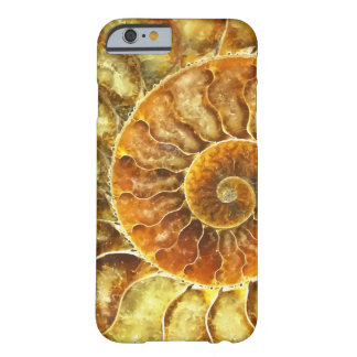 Beach Nautilus Art Abstract Barely There iPhone 6 Case
