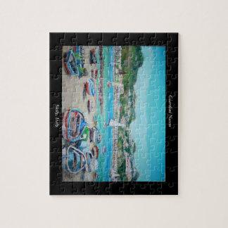 Beach Naxos - Jigsaw Puzzle