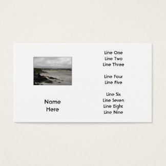 Beach near Rosscarbery Bay, Ireland. Business Card