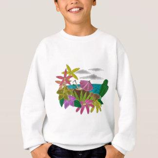 Beach neon sweatshirt