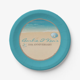 Beach, Ocean Party 7 Inch Paper Plate