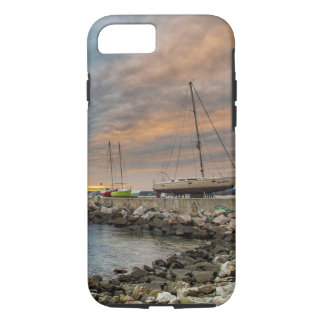 Beach  Ocean Shore  Sail Boat Cell Phone Case