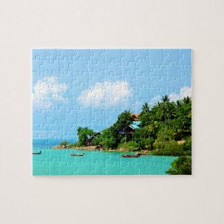 Beach of Koh Phangan Thailand Jigsaw Puzzle