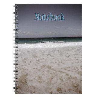 Beach of Nassau,Bahamas Notebook