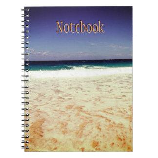 Beach of Nassau,Bahamas Notebooks
