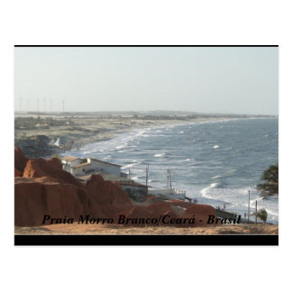 Beach of the White Mount Brazil Postcard