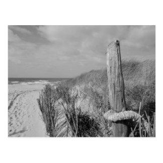 Beach on Sylt Postcard
