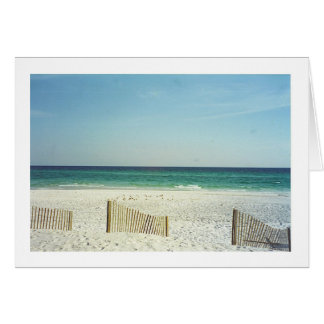 Beach on the Gulf of Mexico 1 Greeting Card