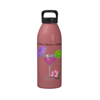 BEACH  OR Vacation Water Bottle