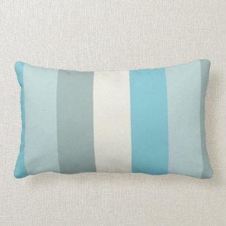 Beach Palette Stripe Lumbar Pillow