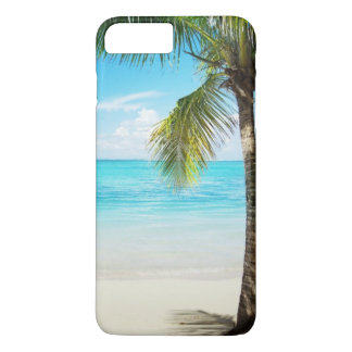 Beach Palm Tree iPhone 7 Plus Case