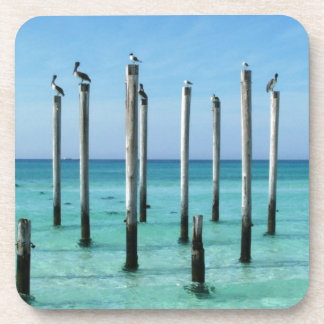 Beach Paradise Drink Coaster