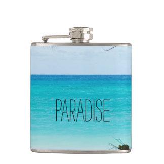 Beach Paradise Hip Flask