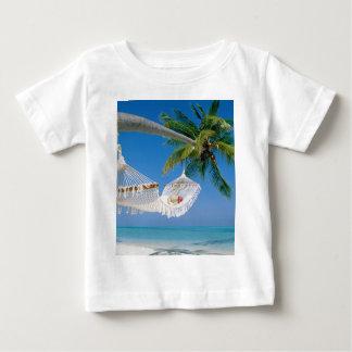 Beach Paradise Vacation Hammock Baby T-Shirt