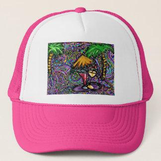 Beach Party Art Trucker Hat