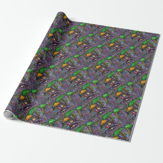 Beach Party Art Wrapping Paper