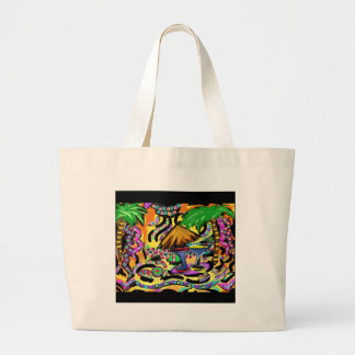 Beach Party Large Tote Bag