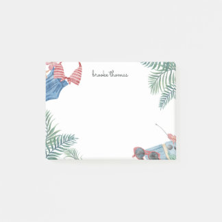 Beach Party Personalized Post-it Notes