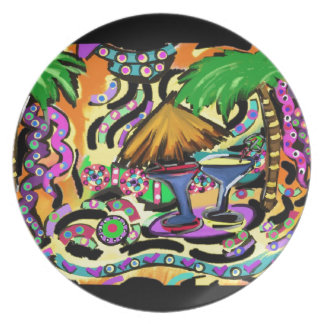 Beach Party Plate