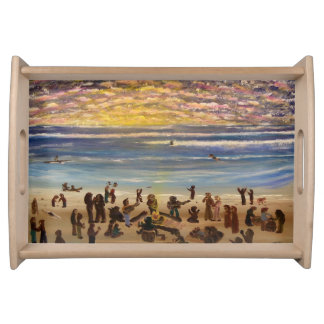 Beach Party Serving Tray