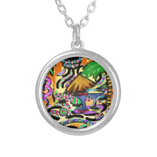 Beach Party Silver Plated Necklace