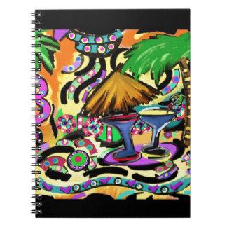 Beach Party Spiral Notebook