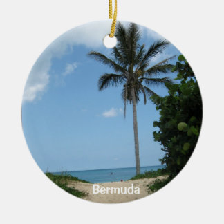 Beach Path, Bermuda Ceramic Ornament