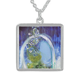 Beach Path Sterling Silver Necklace
