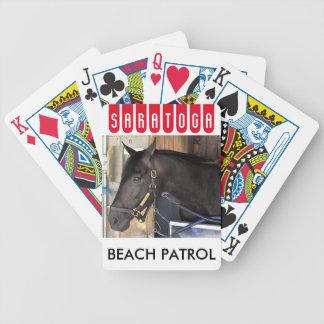 Beach Patrol Bicycle Playing Cards
